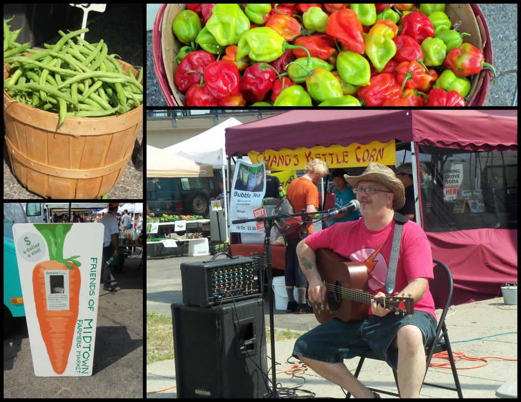 August 2013 at the Market